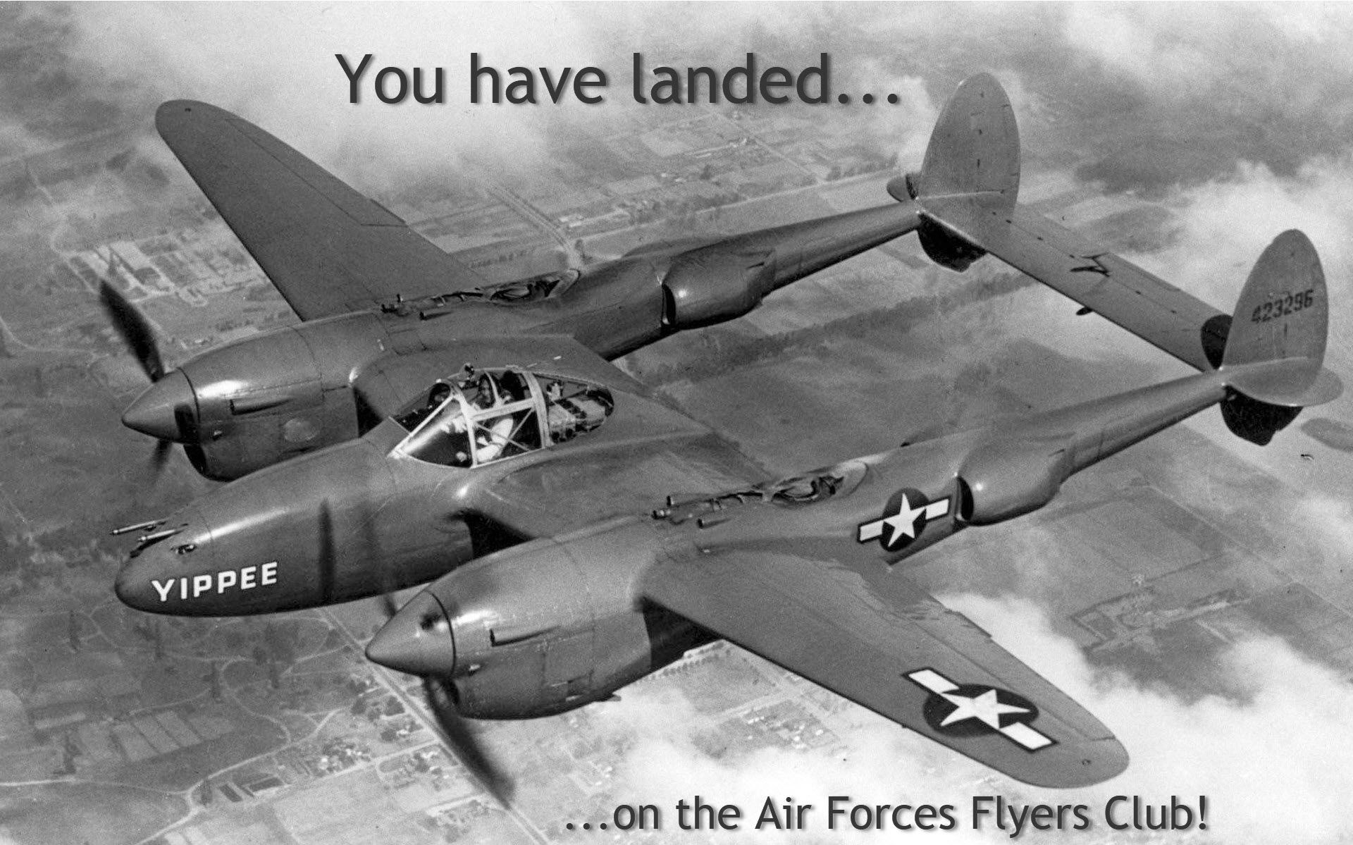 You have landed on the Air Forces Flyers Club!